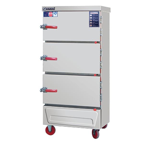 电三门多功能海鲜蒸柜